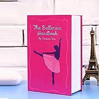 ミニ家庭用ディクショナリータイプのスポリスに収納目立たない本のタイプのシークレットギフト(ピンク)