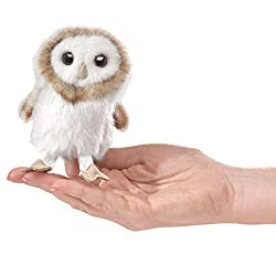 Folkmanis Barn Owl Mini Puppet