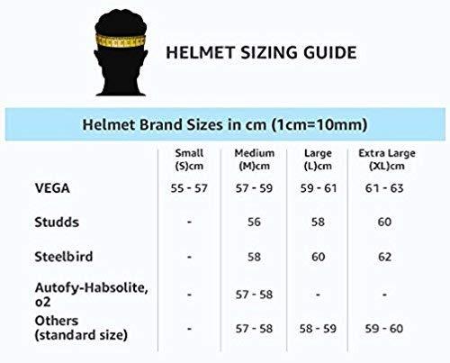 Studds Ninja ELITE Flip Up Full Face Helmet with Carbon Center Strip (Black, L), Expanded Polystyrene and ABS