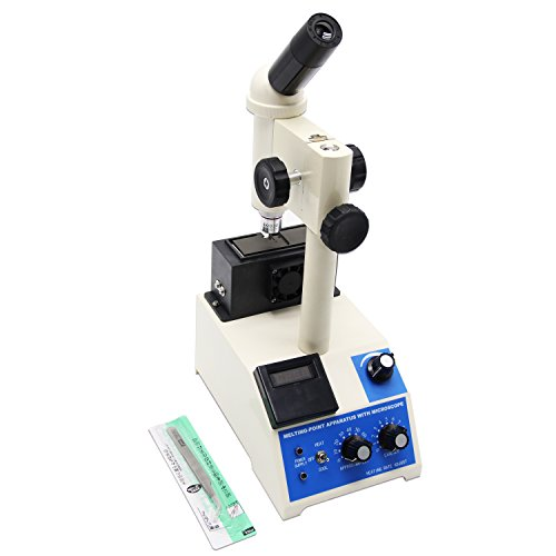 Huanyu X-4 Digital Display Melting Point Apparatus Instrument with Microscope Professional for lab & med (220V)