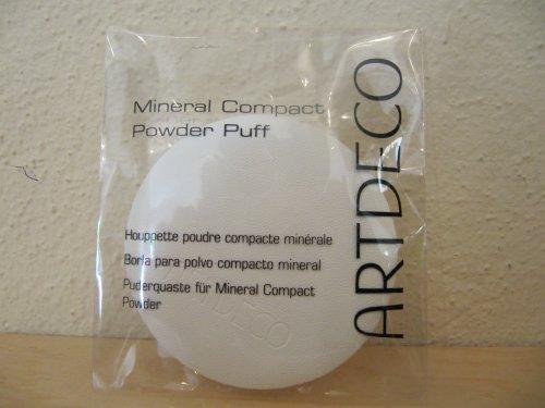 Artdeco Powder Puff for Compact Powder Puderquaste für Kompaktpuder, rund, 1 Stück