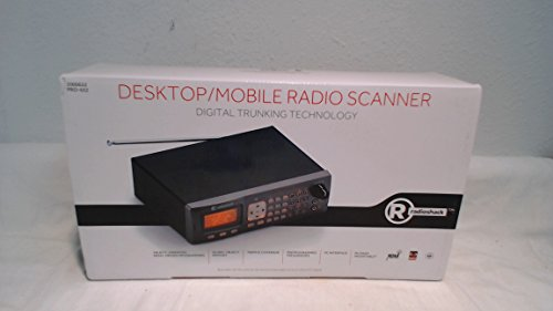 Radio Shack PRO-652 Digital Triple-Trunking Desktop Radio Scanner by RadioShack