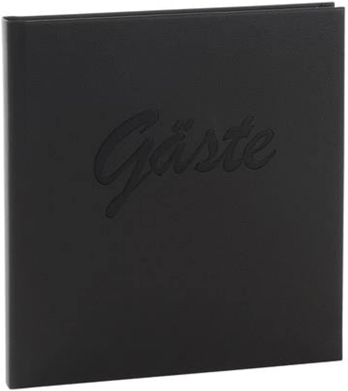 Gästebuch Gästebuch Gästebuch Leder schwarz B000UCCWWC 4df8bd