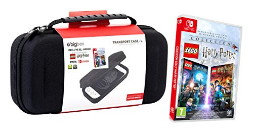 Pack Lego Harry Potter Switch + Switch Pouch Negro (Edición exclusiva Amazon)