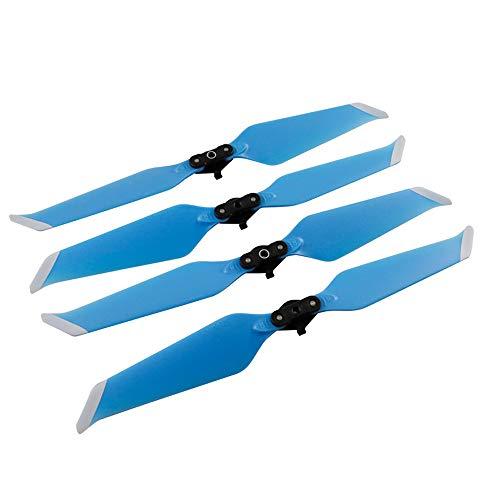ALIKEEY Kamera Zubehör 2 Paar für DJI Drone Mavic 2 Pro/Zoom Propeller 8743F Geräuscharmes Schnellspanner