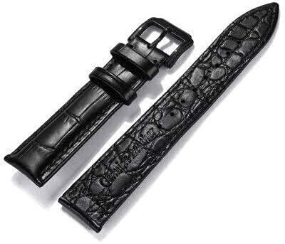 PINGZG Pulsera de cinturón de Correa de Correa de Cuero 18 mm 20 mm 22 mm de Reloj Accesorios para Hombres y Mujeres Casual, cómodo Transpirable (Color : D1, Size : 18mm)