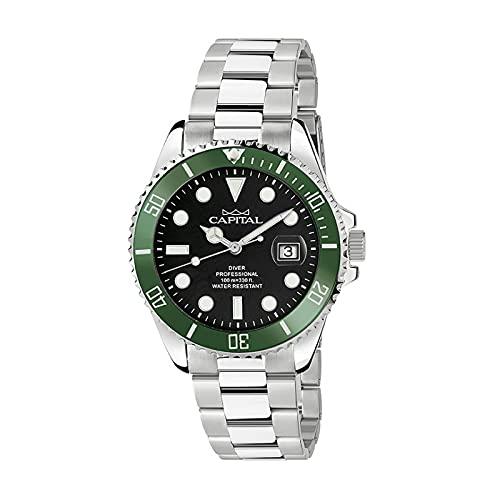 Reloj Time For Man Capital Cuarzo AX208-02*OZ