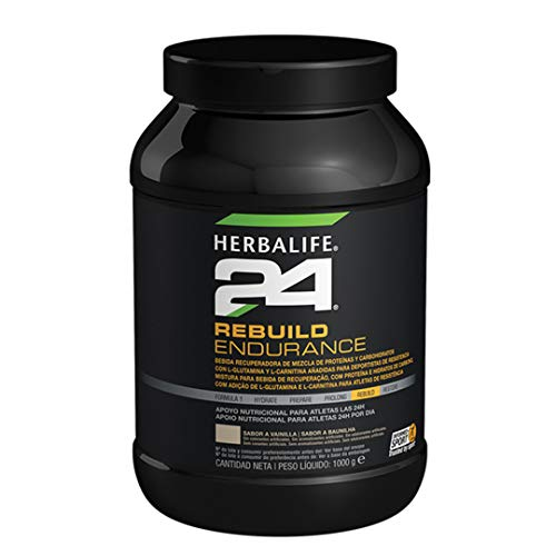 Herbalife Rebuild Endurance Vanilla 1000g Post Workout Recovery Drink After Aerobic Exercise for Muscle Fatigue