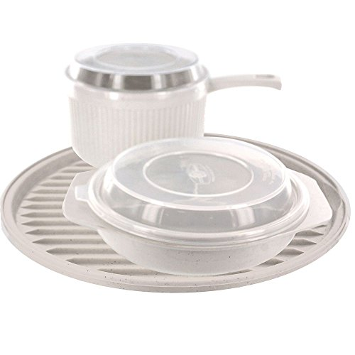 Nordic Ware 61500M 5-Piece Microwave Cook Set
