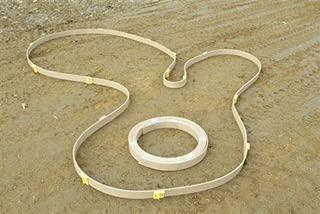 Flexiform Flexible Poly Plastic Forms Concrete Masonry Sidewalks, curbs, Pools -50' Roll w/ 20 Stakes