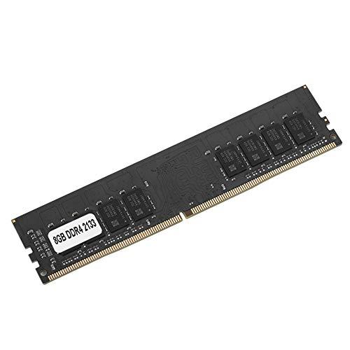 RAM DDR4,Memoria DDR4,RAM de la computadora,Memoria DDR4 4 GB/8 GB/16 GB PC4-17000 2133MHz 1.2V 288Pin,Memoria de escritorio para la placa madre Intel/AMD,Módulos de memoria de escritorio,Negro(8G)