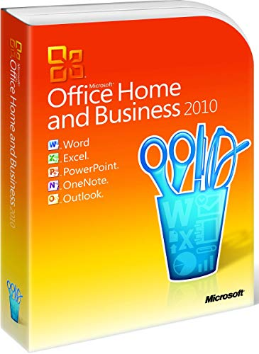Microsoft Office Home and Student 2010, DVD, 32/64 bit, DE