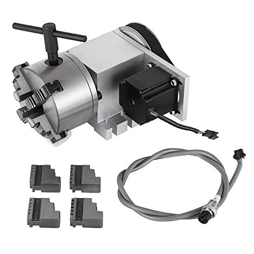 BananaB CNC Router Axis 65 mm 4-Backenfutter und Reitstock 4. Achse Rotary CNC Rotationsachse 4TH-Achsen für Graviermaschine