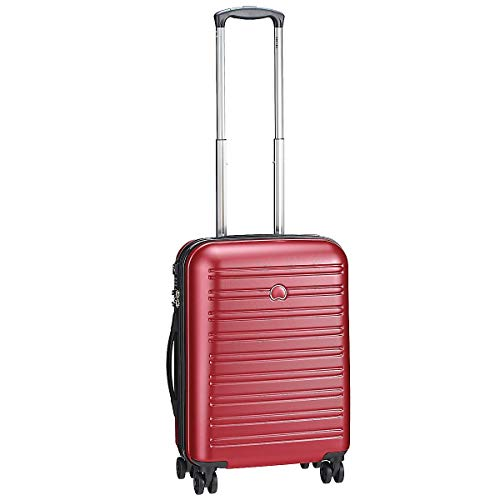 Delsey Segur Maleta Unisex adulto Rojo (Rouge) 55 cm / 40 L