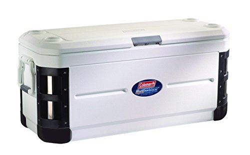 Coleman 200-Quart Xtreme 7-Day Offshore Pro Series Marine Cooler, White