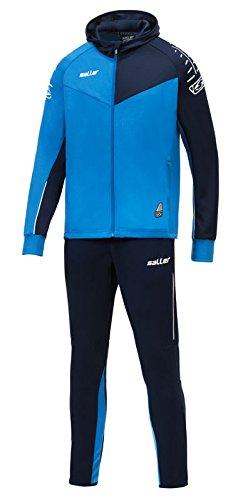 Saller Trainingsanzug »sallerUltimate« 131 hellblau-Marine Gr. M