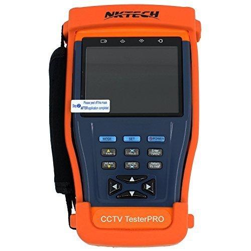 Aparato de medida Barsoom ST893 (9 cm) para la instalación y el mantenimiento de sistemas de videovigilancia (PTZ, RS485, UTP)