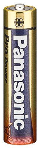 Piles alcalines micro aAA panasonic pro power