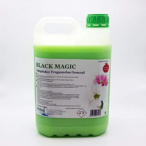 Sosmi Limpiador Fregasuelos Profesional Black Magic Garrafa 5 LTR.