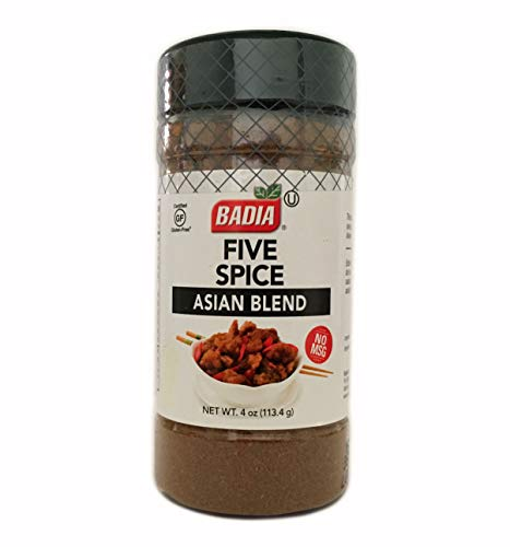 4 oz Bottle Five Spice Asian Blend Powder Seasoning No MSG Kosher