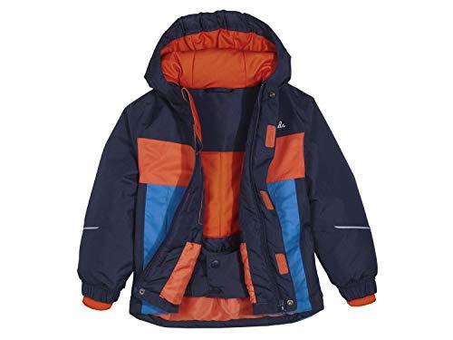 lupilu Kleinkinder Jungen Schneejacke Winterjacke Jacke Navy Orange 86/92