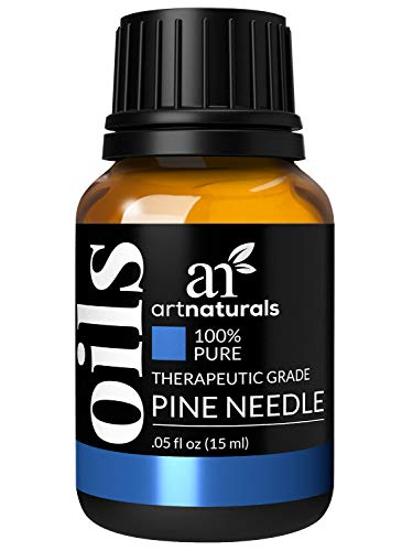 artnaturals 100% Pure Pine Needle Essential Oil - (.5 Fl Oz / 15ml) - Undilued Therapeutic Grade - Cleanse Purify and Breathe - Holiday Fir Christmas Tree Scent for Aromatherapy Diffuser