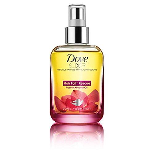 Dove Elixir Hair Fall Rescue Rose & Almond Hair Oil, 90ml