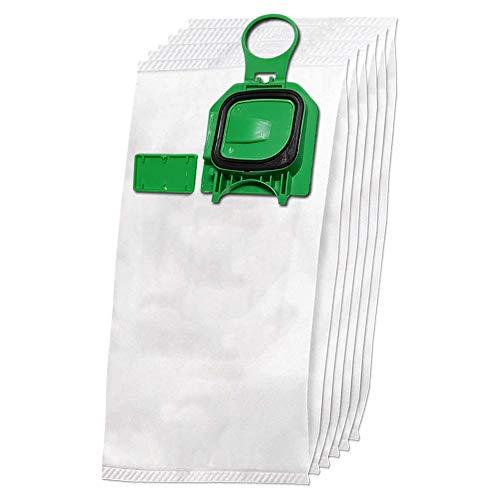 6 premium bolsas de aspiradora de microfibra adecuado para Folletto Vorwerk Kobold 140, 150, VK 140, VK 150, VK140, VK150, FP140, FP150 - con cierre higiénico