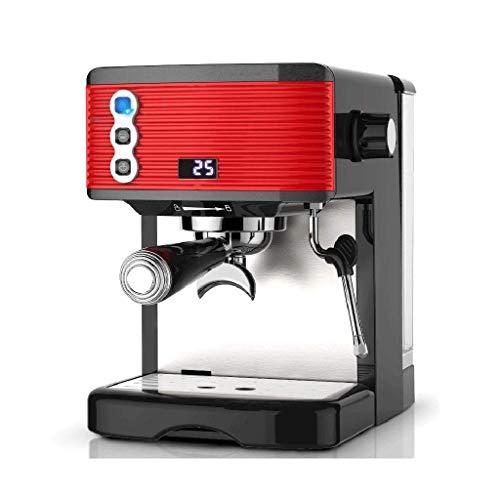 HIZLJJ Fully Auto Cappuccino Machine Espresso Maker Automatic Coffee & (Iced-Coffee) Small Stainless Steel Espresso Machine Office Steam Coffee Machine Commercial Coffee Machine