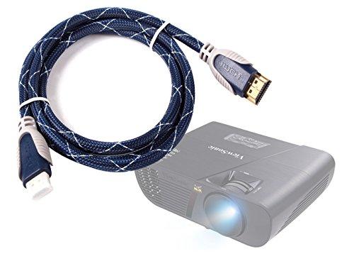 DURAGADGET Cable HDMI para Proyector Excelvan GM60 | LED 5018 | LED-86 2800 | LED-9 Mini | PH580-1.4m - Conexiones Chapadas En Oro