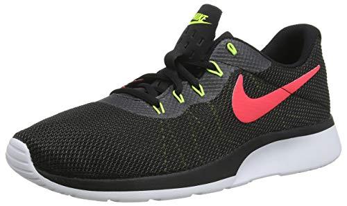 Nike Tanjun Racer, Scarpe da Ginnastica Basse Uomo, Nero (Black/Solar Red-Anthracite-Vol 010), 44 EU