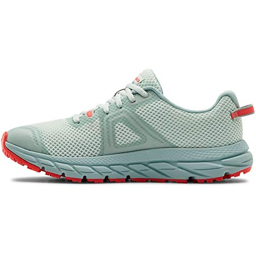 Under Armour Women's Charged Toccoa 3 Sneaker, Seaglass Blue (400)/Enamel Blue, 12