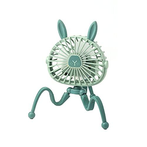 Mini Ventilador eléctrico Colgante Ajustable, Soporte de Pulpo, Ventilador de Mano portátil,...
