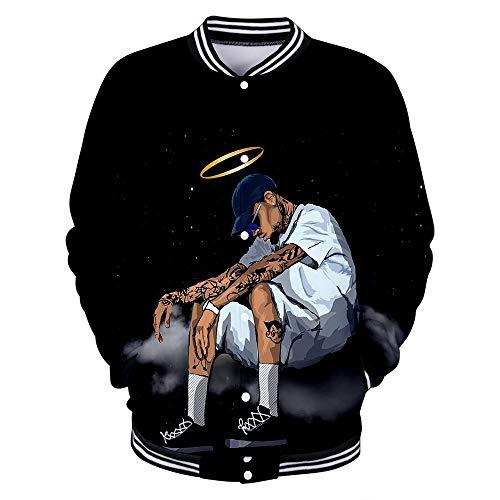 Chris Brown Pullover Capa de la chaqueta del abrigo de hombre y...