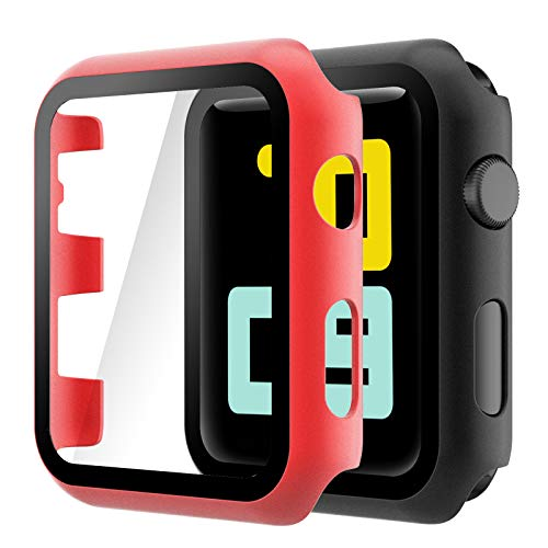 iwatch 2 apple 42 mm orologio Hianjoo Cover [2-Pack] Compatibile per Apple Watch 42mm Pellicola Proteggi Schermo