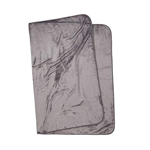 Butlers Hugs & Kisses Fleecedecke 150x200cm in Taupe -? Sofadecke aus 100% Polyester - Flauschige Wohnzimmer-Kuscheldecke