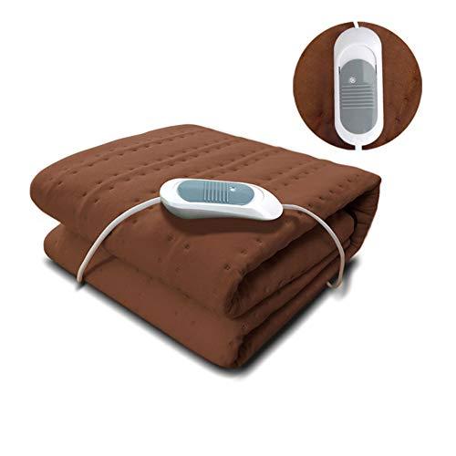 Candyana Electric BlanketWashable comfortabele temperatuurcontrole/veiligheid 8 uur automatische controle