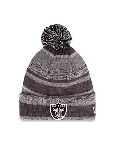 NFL New England Patriots 14 Graphite/Team Color Sports Knit Hat