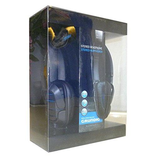 GRUNDIG Silver Edition Kopfhörer Audio Stereo schwarz
