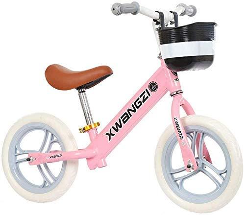 LJYY Bicicleta de Equilibrio para niños Sprint 12 - Edades de 18 Meses a 5 años Bicicleta para niños pequeños sin Pedales para niños y niñas