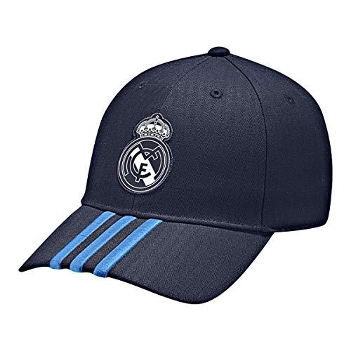 adidas Real 3S Cap  - Gorra para hombre, color Multicolor (Azul marino/Azul/Blanco), talla única