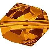 Cuenta CÓSMICA Cristal Swarovski 12 MM - Envase 2 Unidades, Crystal Copper