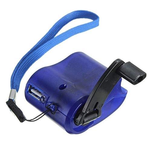 rongweiwang Portátil USB de la manivela del Cargador del teléfono de Emergencia...