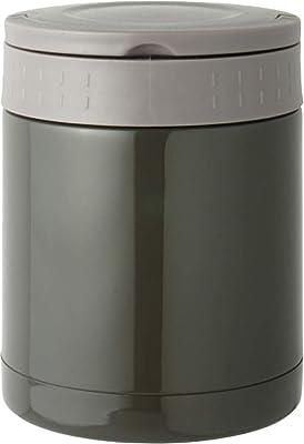 リビング 弁当箱 フード マグ スープ リゾット 果物 350ml ブラック 保温 保冷 持ち手付 ENJOY