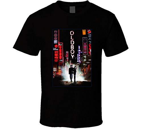 Oldboy, T-Shirt, South Korean, Movie, Thriller, Korea, Park Ch, Manga