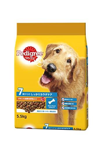 ペディグリー シニア犬用 7歳から ヘルシーチキン&緑黄色野菜入り 5.5kg [ドッグフード・ドライ]
