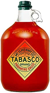 Tabasco Habanero Sauce , 1x Gallone 3,78 l, scharfe Chili Sauce, 100% natürlich, Glasflasche