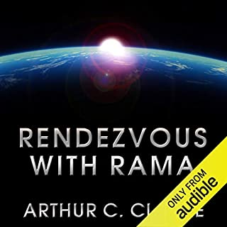 Rendezvous with Rama     Rama Series, Book 1              Written by:                                                                                                                                 Arthur C. Clarke                               Narrated by:                                                                                                                                 Toby Longworth                      Length: 7 hrs and 21 mins     18 ratings     Overall 4.8