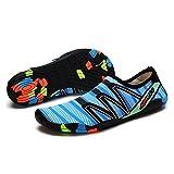 JINPENGRAN Zapatos de natación, Zapatos de Playa al Aire Libre de Buceo, Zapatos de vadeo sin Deslizamiento Solos de Soft,4,45