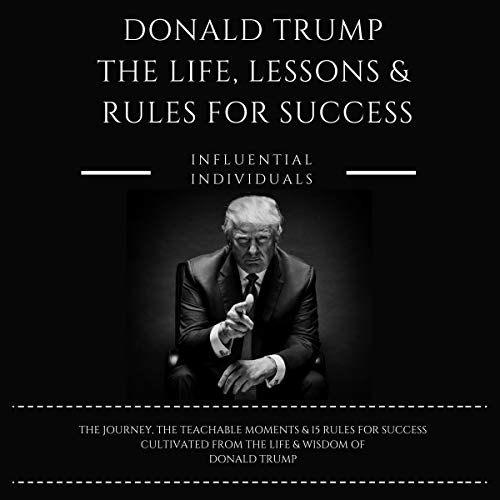 『Donald Trump: The Life, Lessons & Rules for Success』のカバーアート